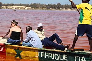 Excursion au lac Retba